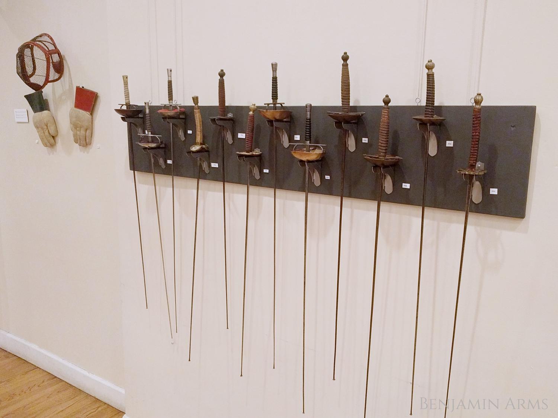 Fencing Weapon Exhibit At La Nacional